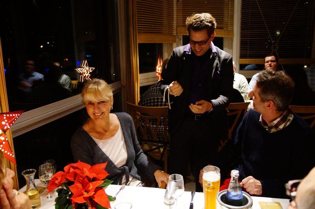 Der Zauberer in Berlin