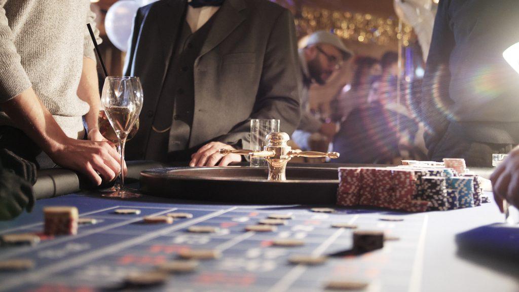 Der Roulette-Tisch in Brandenburg